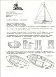 Baarda folder platbodemjacht 6 en 7m 1962