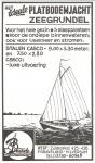 Advertentie Jachtwerf Baarda Kramer en de Bruijn